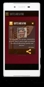 Quotes And Sayings apk screenshot