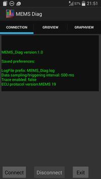 MEMS_Diag_lite apk screenshot