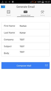 Email Anyone apk screenshot