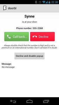 doorbl - your NFC doorbell apk screenshot