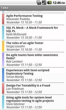 Agile Testing Days apk screenshot