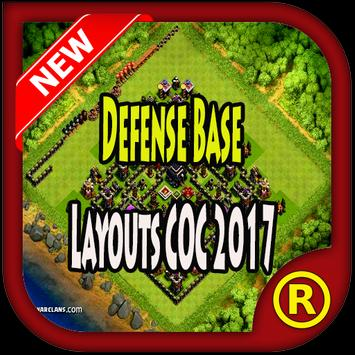 Defense Base Layouts COC 2017 poster