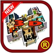3D Home Design New icon