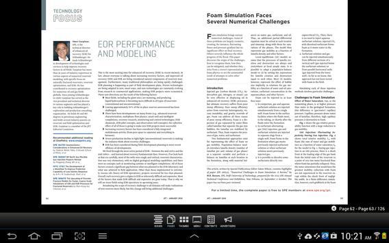 Journal Petroleum Technology apk screenshot