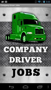 Company Driver Jobs poster