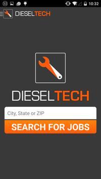 Diesel Tech Jobs poster