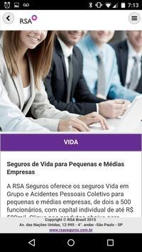 RSA Brasil - Institucional apk screenshot