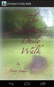 The Christian's Daily Walk poster
