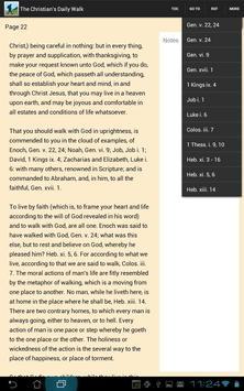 The Christian's Daily Walk apk screenshot