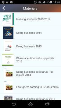Belarus invest apk screenshot