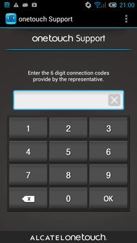 ONE TOUCH Support apk screenshot