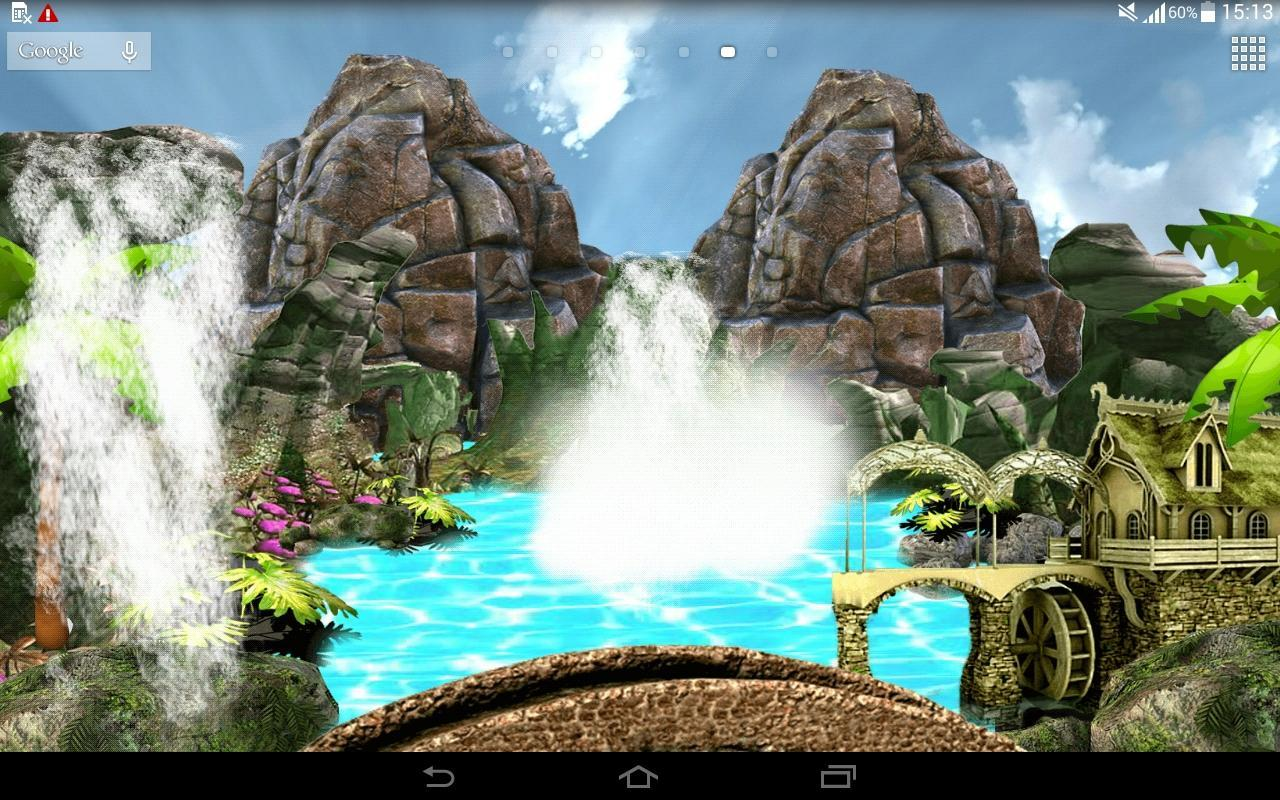 waterfall live wallpaper apk download free entertainment