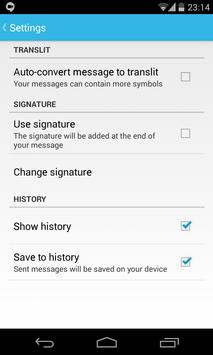 Free SMS to Belarus apk screenshot