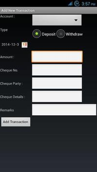 Accounts Manager apk screenshot