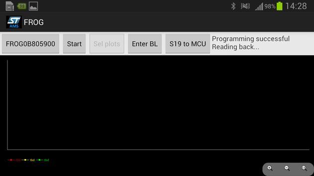 STM8/32 Bluetooth Flashloader apk screenshot