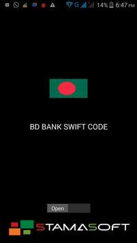 BD BANK SWIFT CODE poster