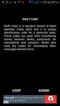 BD BANK SWIFT CODE apk screenshot