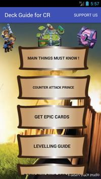 Deck Guide for CR poster