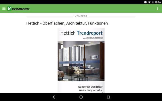 Vomberg MI App apk screenshot