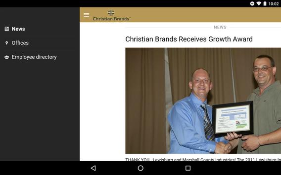 CBC News - Christian Brands apk screenshot
