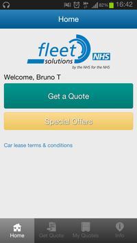NHS Fleet Solutions poster