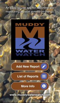 Muddy Water Watch poster
