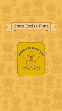 State Excise Pune poster