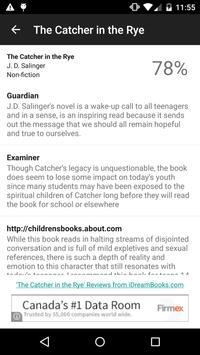 OpenBook - Book Reviews apk screenshot