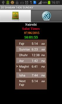 Salat Times apk screenshot