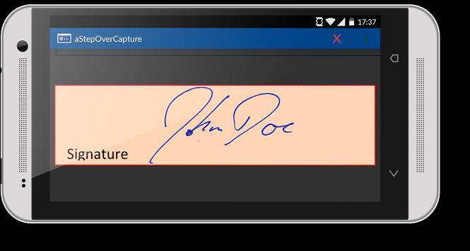 aStepOverCapture apk screenshot