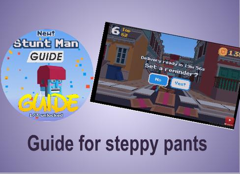 Pro Hack for steppy pant poster
