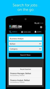 NIJobs job search app poster