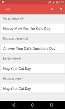 Today's Holiday apk screenshot