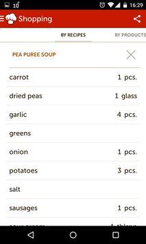 Recipes from Cookorama apk screenshot