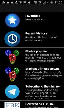 animated  Sticker for Telegram apk screenshot