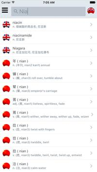 Offline Chinese English Dict poster