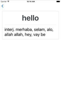 Offline Turkish English Dict apk screenshot