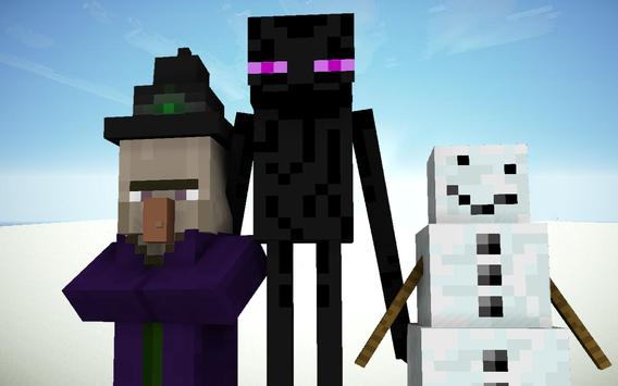 Mob skins for Minecraft poster