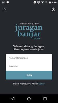 Juragan Banjar poster