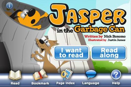 Jasper Garbage Can StoryChimes apk screenshot