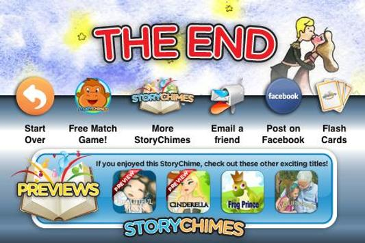 The Red Shoes StoryChimes apk screenshot