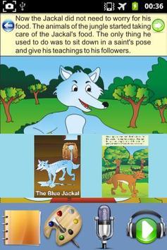 The Blue Jackal - Kids Story apk screenshot