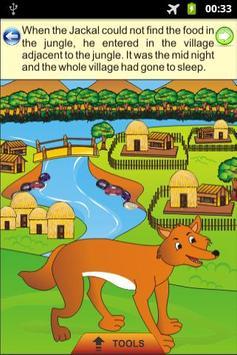 The Blue Jackal - Kids Story poster