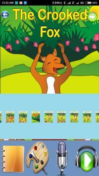 The Crooked Fox - Kids Story apk screenshot