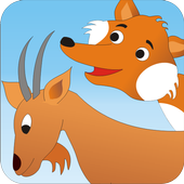 Fox and the Goat - Kids Story icon