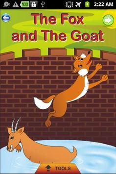 Fox and the Goat - Kids Story poster