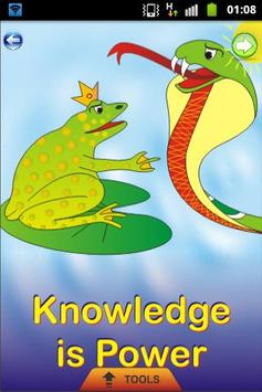 Knowledge is Power -Kids Story poster