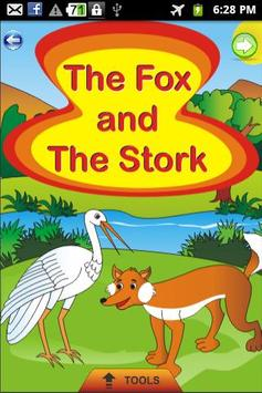 The Fox and Stork - Kids Story poster