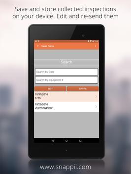 Heavy Equipment Inspection App apk screenshot