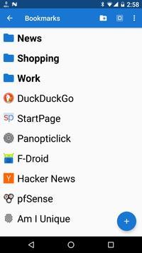 Privacy Browser Free apk screenshot